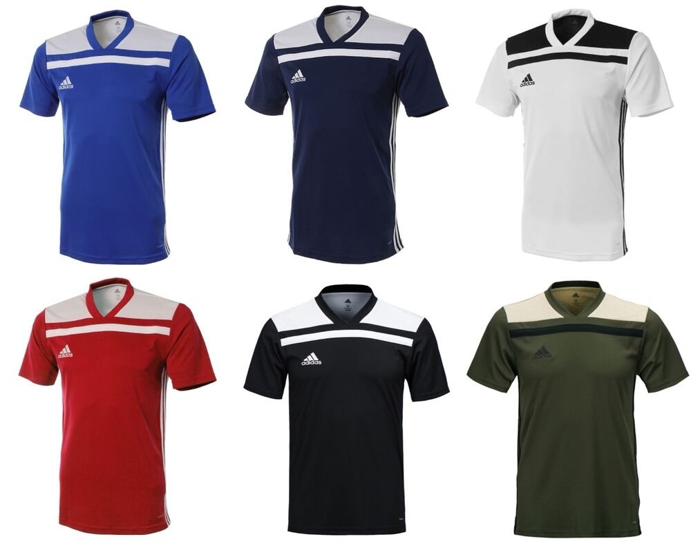 Details about Adidas Men Regista 18 Short Sleeve T-Shirts Soccer Football  Climalite Tee Jersey 8f6d318f4