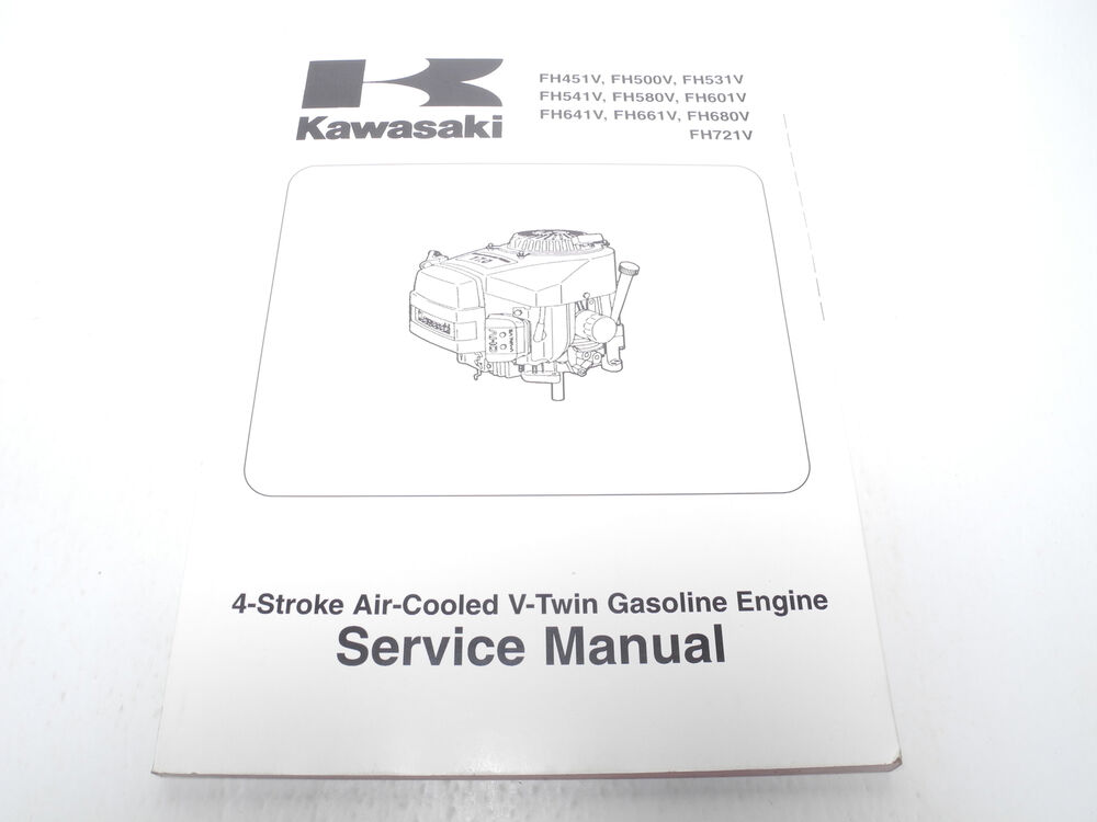 kawasaki fh451v fh500v fh531v fh541v fh580v service manual 99924 rh ebay ie 15 HP Kawasaki Engine Manual 15 HP Kawasaki Engine Manual