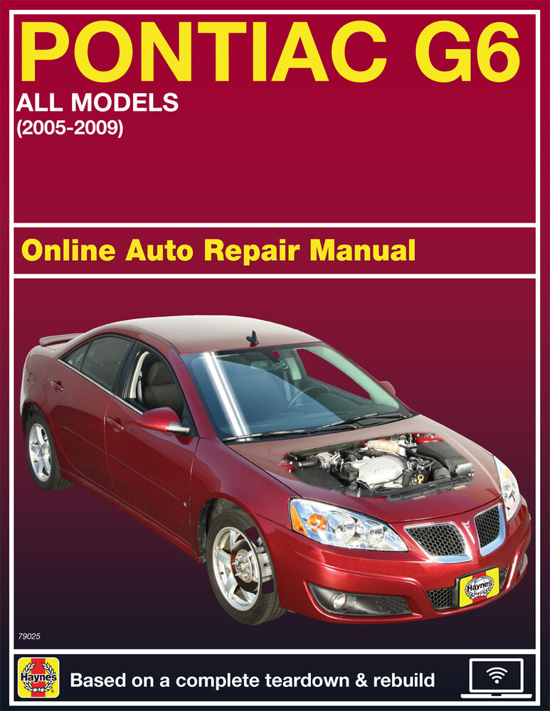 2009 pontiac g6 haynes online repair manual select access ebay rh ebay com 2009 pontiac g6 gt owners manual 2009 pontiac g6 service manual pdf