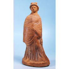 Greek Terracotta Woman of Fashion - Ancient Art & Antiquities