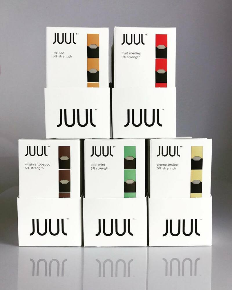 JUUL PODS ALL FLAVORS Mango Mint Creme Virgin Fruit SPECIAL PRICE FREE SHIPPING