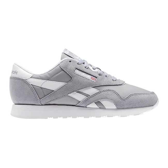 fe367b5ba39be Details about New Womens Reebok Classic Nylon Neutral GREY BS9376 US W 6.0  - 10.0 TAKSE