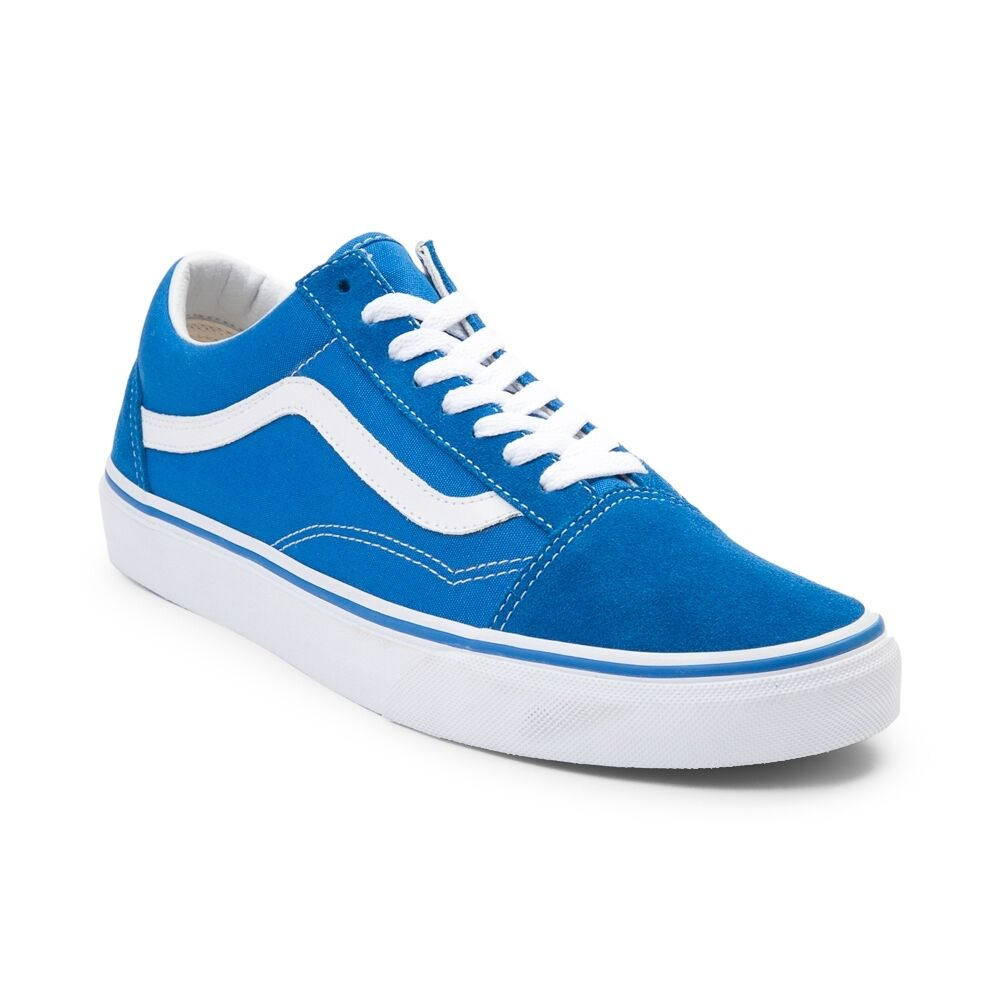 Details about New Vans Old Skool Skate Shoe Imperial Blue Womens Shoes  Suede Canvas a3efcc456