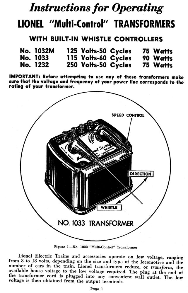 Enchanting Lionel Kw Transformer Wiring Diagram Gallery - Schematic ...