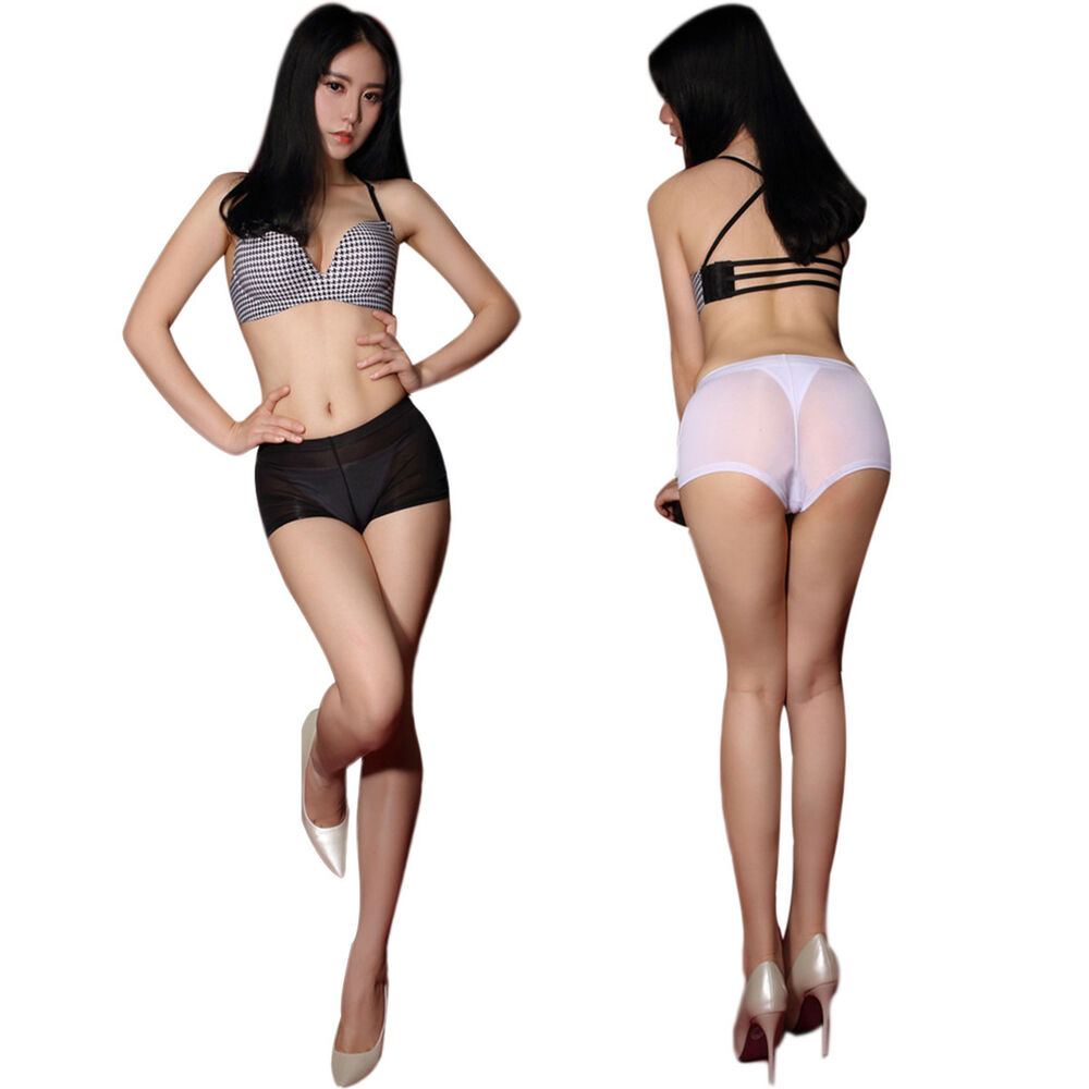 Details about Lady Mesh See Through Charm Shorts Sheer Transparent Booty  Micro Short Hot Pants b75f952a1