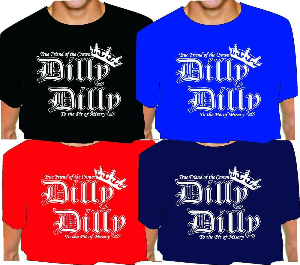 0a4238b2c DILLY DILLY T SHIRT bud light distressed print OR solid white print ...