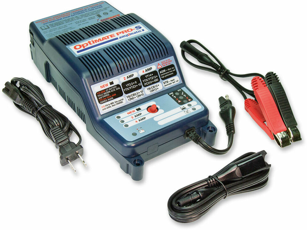 Tecmate Optimate Pro S Professional 12v Battery Maintenance Charger