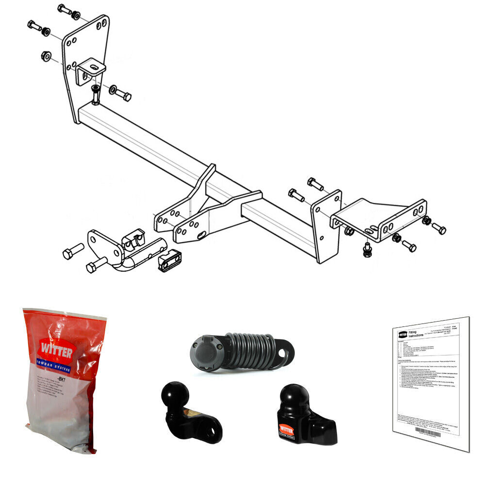 Witter Towbar For Kia Ceed Sw 2012 Onwards Inc Facelift Flange Wiring Instructions