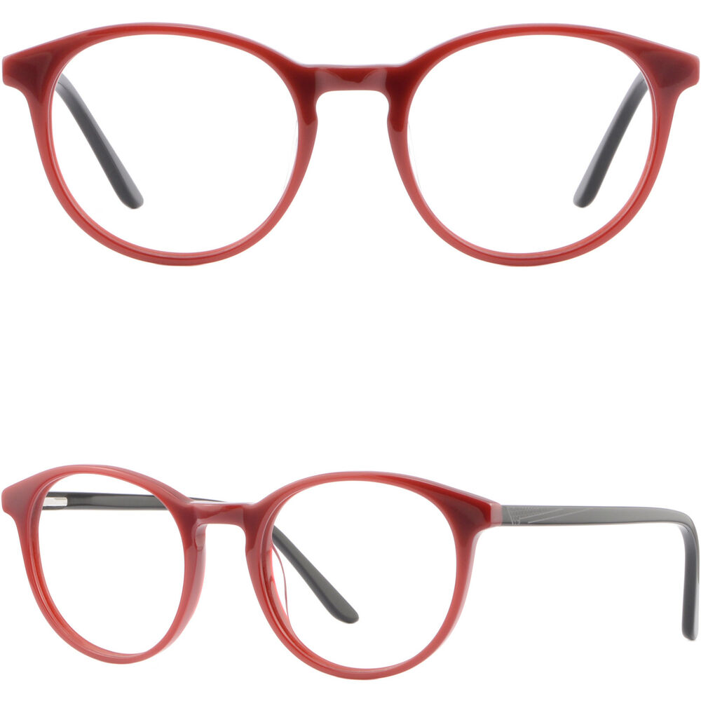 316aef3bab7 Details about round mens womens acetate plastic frames spring hinges glasses  eyeglasses red jpg 1000x1000 Mens