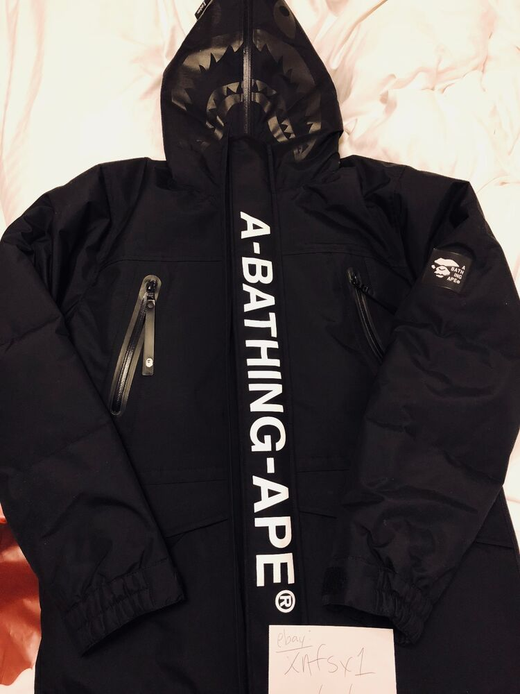 8e8a1cc7175a Details about NWT A BATHING APE BAPE HIGH TECH ARMY DOUBLE KNIT MAD 3LAYER SNOWBOARD  JACKET