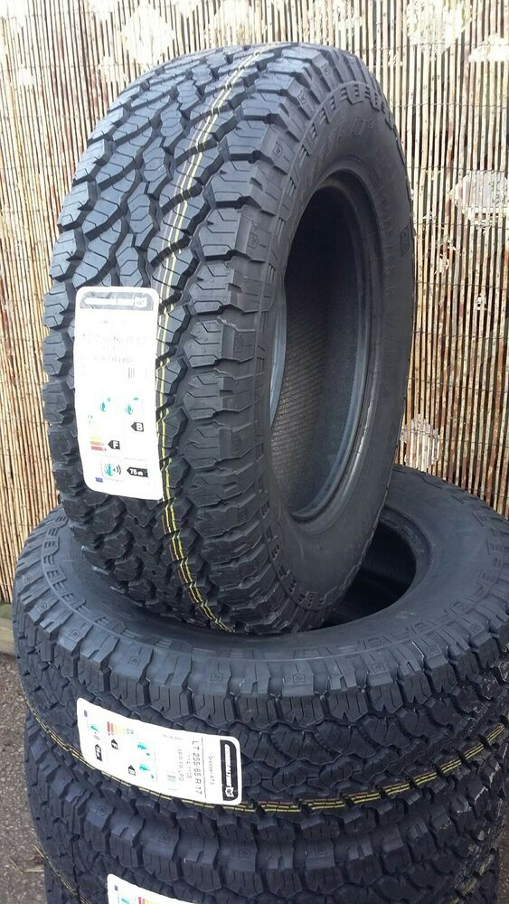 255 65 17 114s xl general grabber at3 tyres x4 all terrain. Black Bedroom Furniture Sets. Home Design Ideas