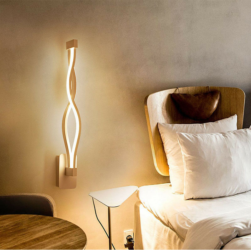 16w20w modern billow wall lamp wave acrylic led wall light curve 16w20w modern billow wall lamp wave acrylic led wall light curve wall sconce aloadofball Image collections