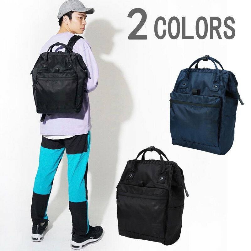 Details about Anello Japan Official Unisex Big Size Tote Waterproof  Backpack Rucksack Bag 2018 cc64fe54d3a97