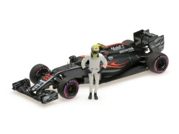 MODELLINO McLAREN HONDA MP4-31 BUTTON GP ABU DHABI 2016 MINICHAMPS