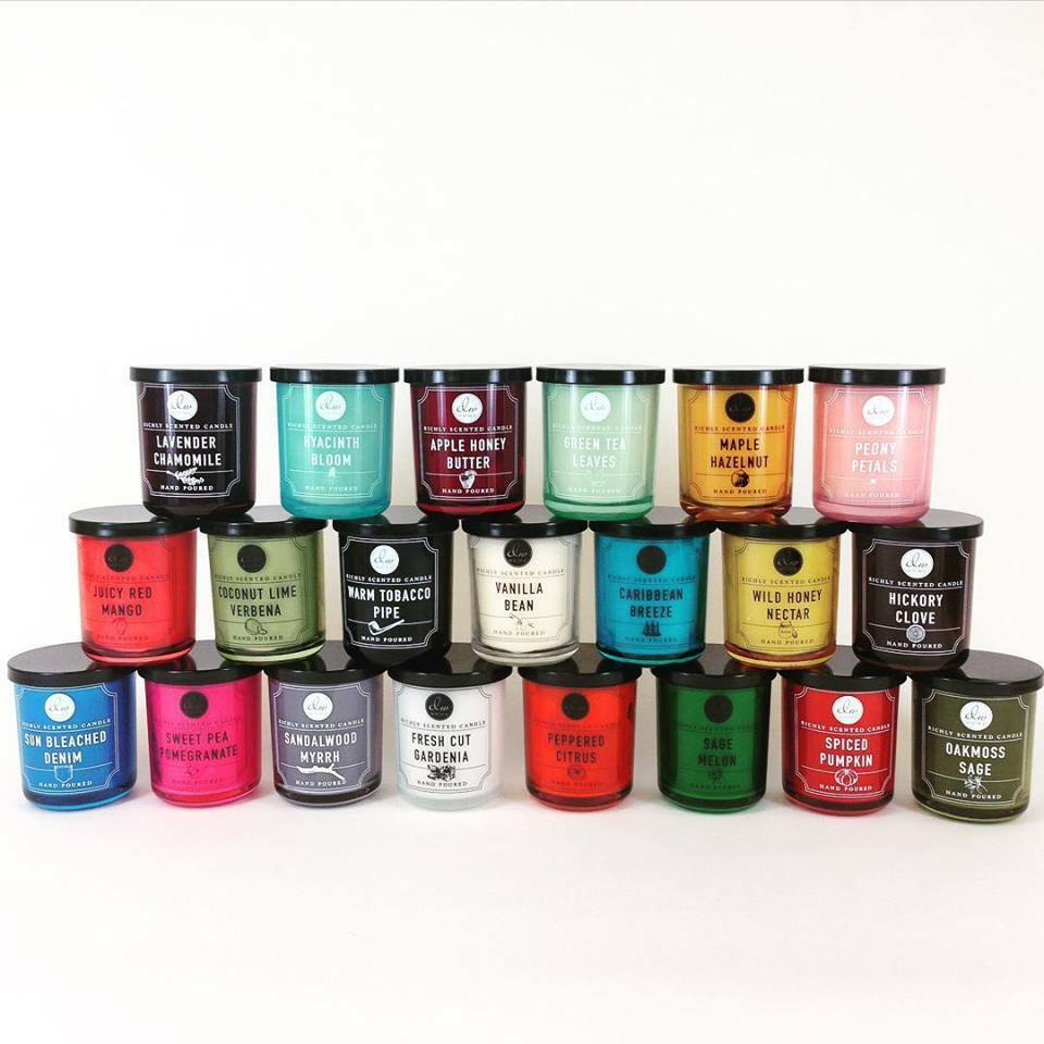 DW Home Richly Scented Candles Hand Poured Fragranced ...