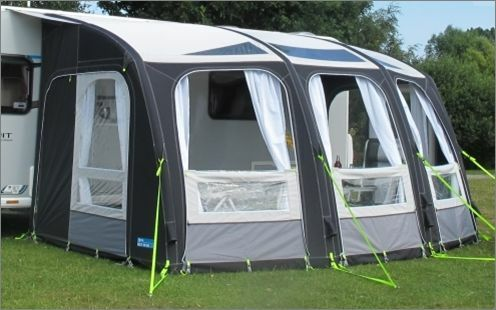 Kampa Ace Air 400 Pro Inflatable Caravan Awning 2017 With