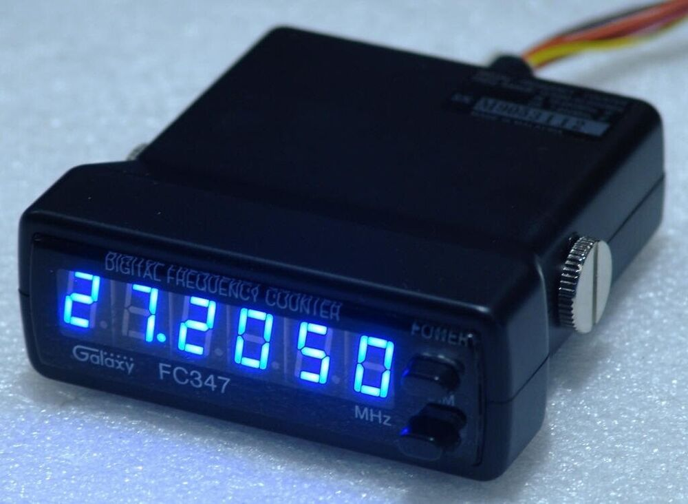 Cb Frequency Counter : Galaxy fc digit frequency counter for dx cb