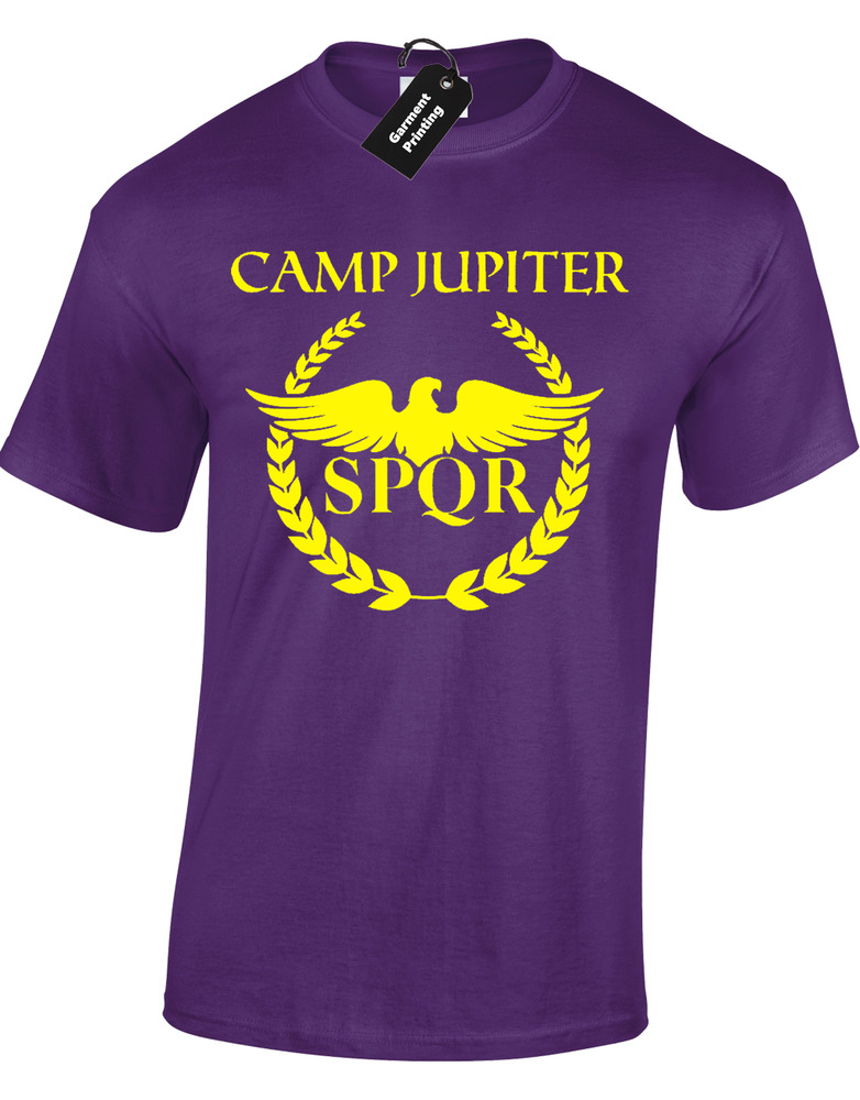 CAMP JUPITER MENS T-SHIRT COOL PERCY DESIGN JACKSON SPQR ... Camp Jupiter Shirt Percy Jackson