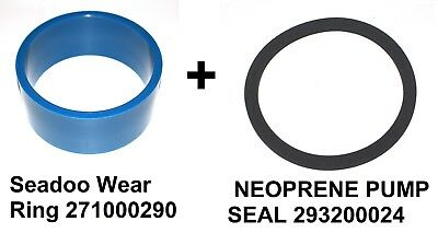 New Seadoo wear ring 271000290 + 293200024 SEAL  jetboat speedster spx hx