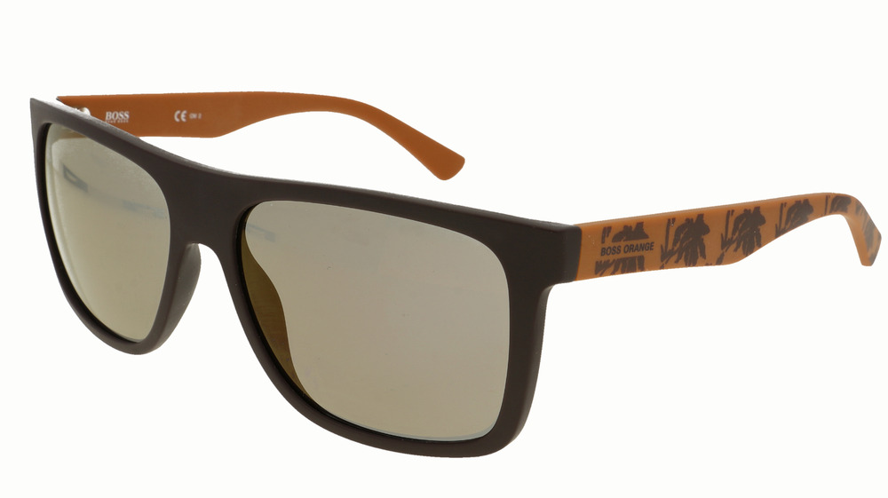 ae677834423 Boss Orange Unisex Designer Sunglasses + Case + Cloth BO 0253 S Q83 CT New