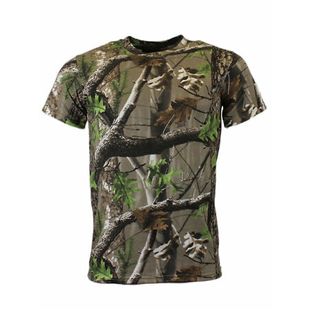img-Game Trek Camouflage T Shirt Chasse Pêche Camouflage Haut