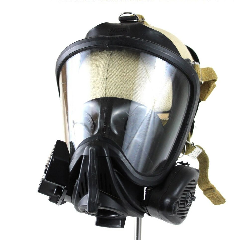 Msa Ultra Elite Med Full Face Mask Respirator Firehawk Hud