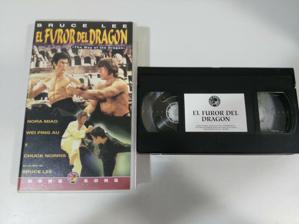 Bruce lee the fury of the dragon chuck norris vhs collector edition bruce lee the fury of the dragon chuck norris vhs collector edition espaola ebay thecheapjerseys Images