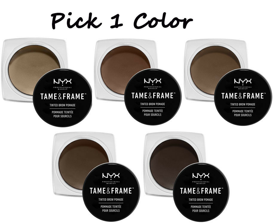 Nyx Tame Amp Frame Brow Pomade Tfbp Quot Pick 1 Color Quot Ebay