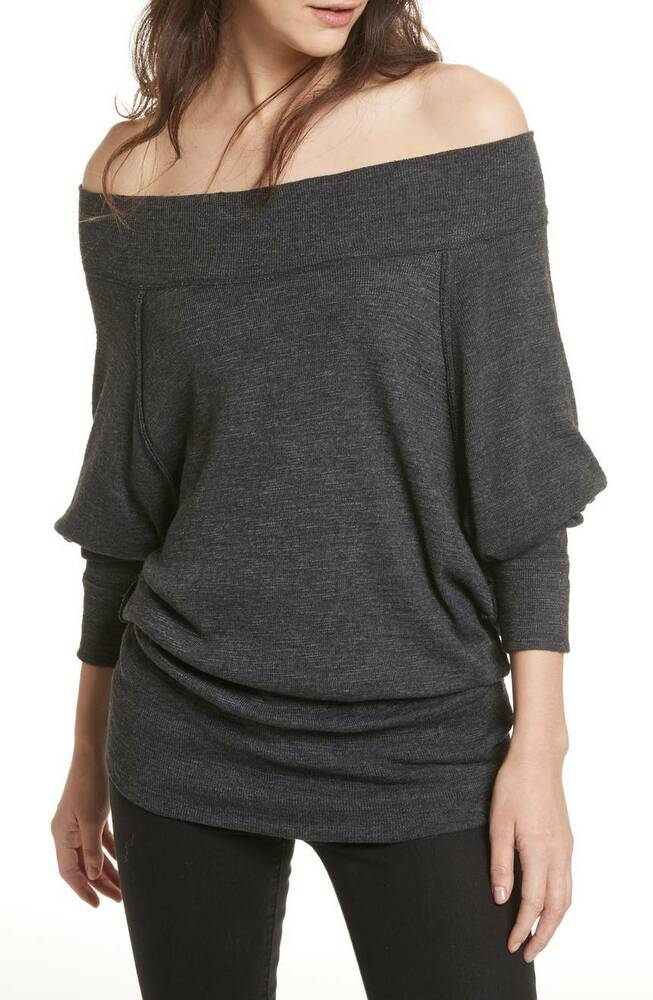 824cf45cda Details about NWT Free people Palisades Off the Shoulder Top Retail  68