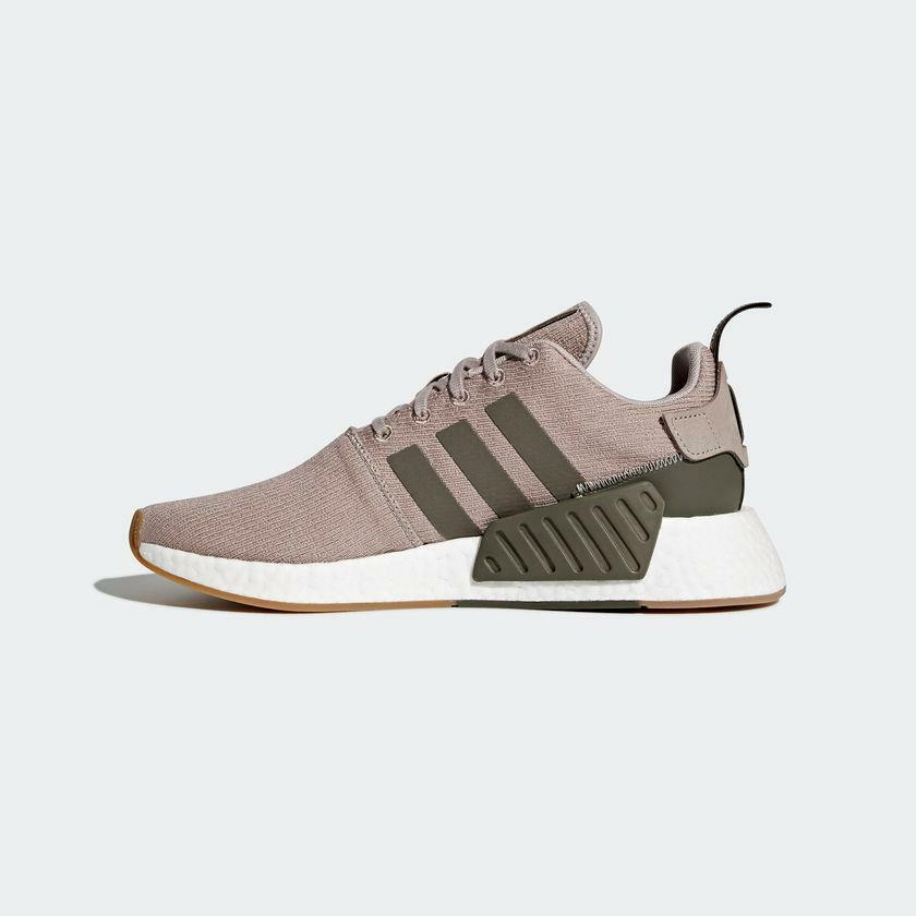 15ec9f91de4a Details about ADIDAS ORIGINALS NMD R2 BOOST CQ2399 VAPOR GREY KHAKI OLIVE  GREEN WHITE GUM SOLE