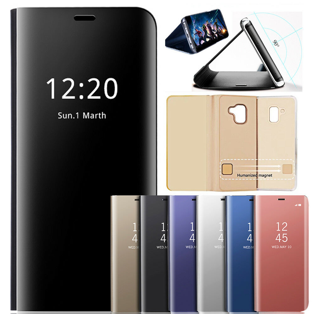 sto fest clear view handyh lle f r samsung galaxy s9 a8 s8 plus case cover h lle ebay. Black Bedroom Furniture Sets. Home Design Ideas