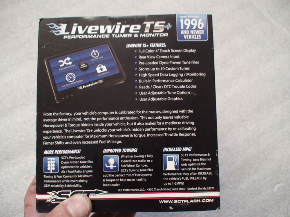 Ford F250 F350 powerstroke Diesel New SCT 5015P livewire programmer ...
