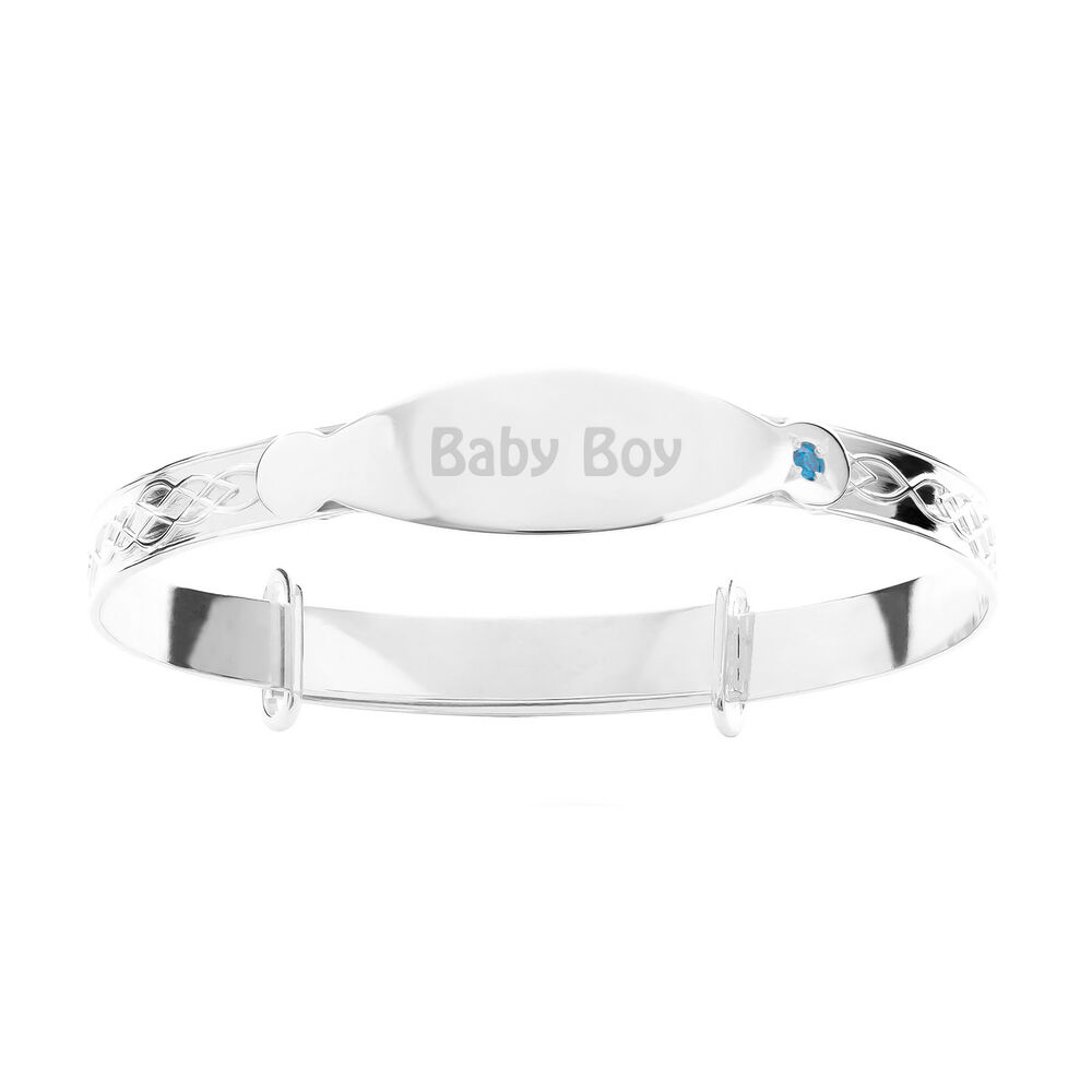 name lily baptism beads brooke bracelet silver sterling jewelry dp charm cross com amazon boys christening