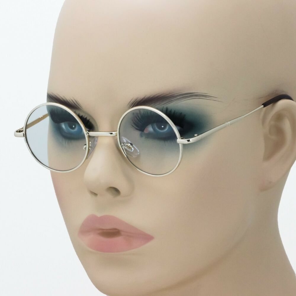 6e24c1a4809 Details about New John Lennon Round Retro Metal Frame Clear Lens Eye Glasses  Hippies 70s 80s