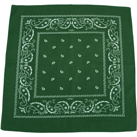 img-MFH Bandana Cotton Mens Zandana Scarf Work Outdoor Military Biker OD Green
