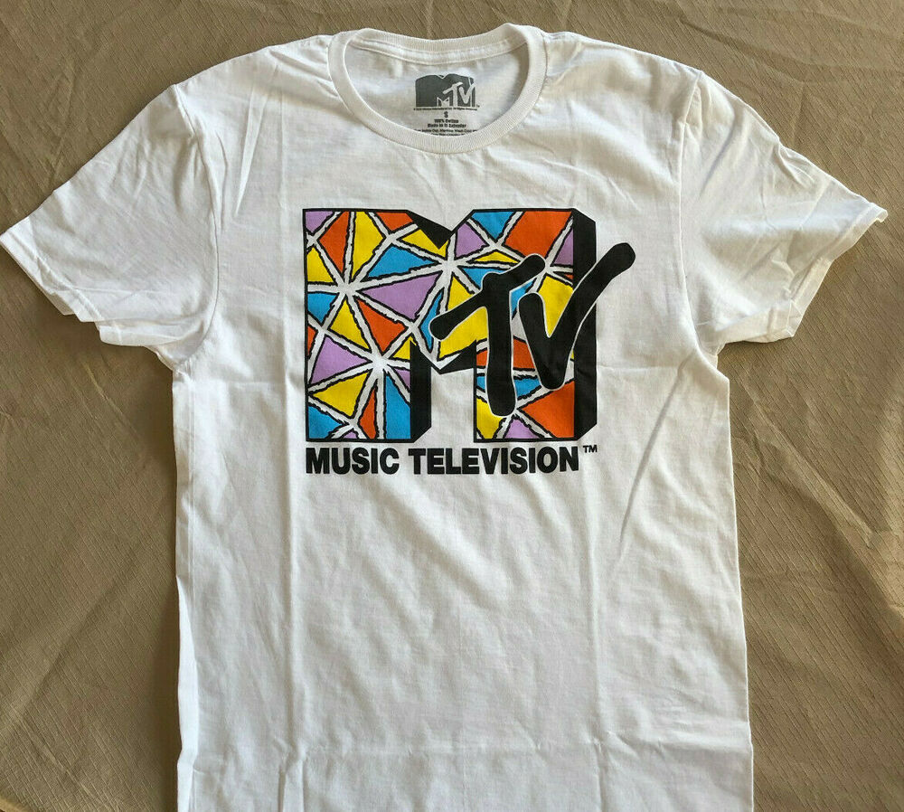 Mtv t shirt rock vintage style original classic tie dye for Original t shirt designs