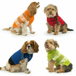 Ancol Dog Puppy Jumpers Sweaters Nordic Scarf Warm Stylish Clothing XXS/XS/S/M/L