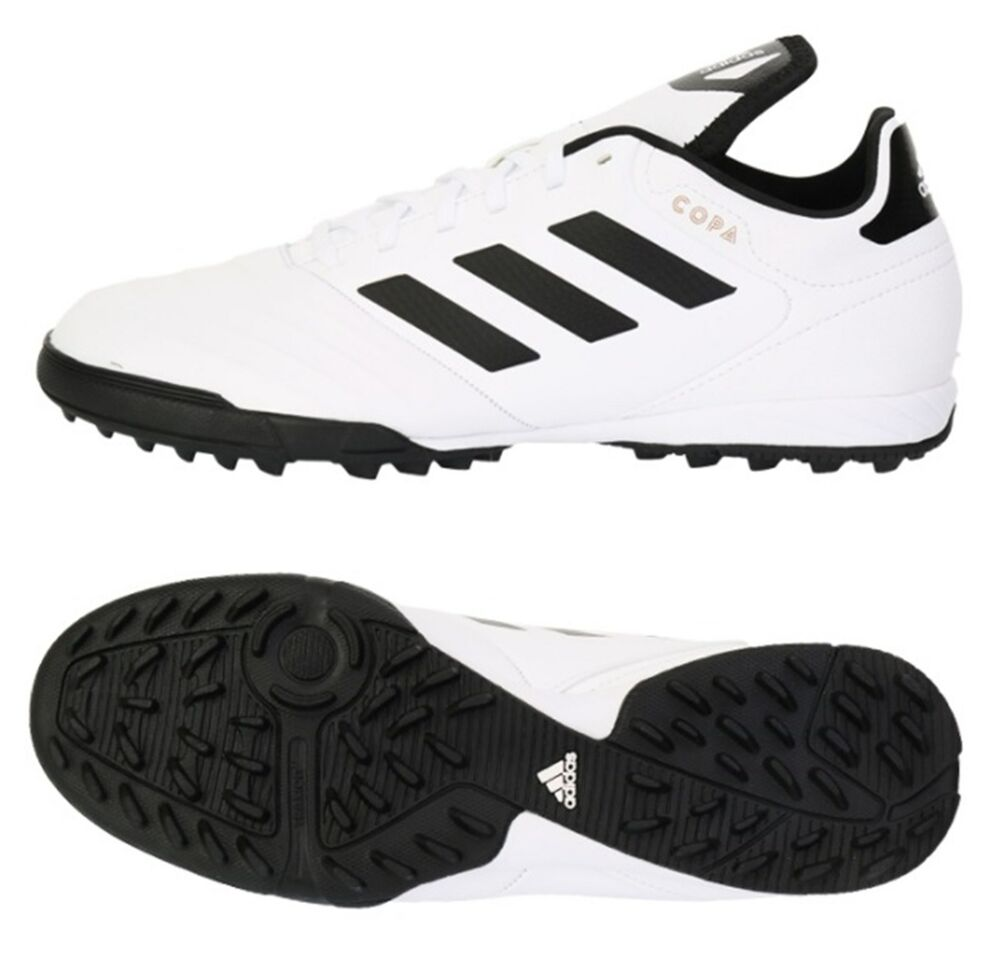 bcbe8ac4d13c Details about Adidas Men COPA Tango 18.3 TF Cleats Futsal White Shoes  Soccer GYM Spike CP9021