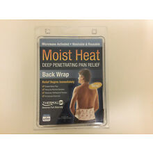 Thermalon Microwave Activated Moist Heat Therapy Wrap with Ties for Back