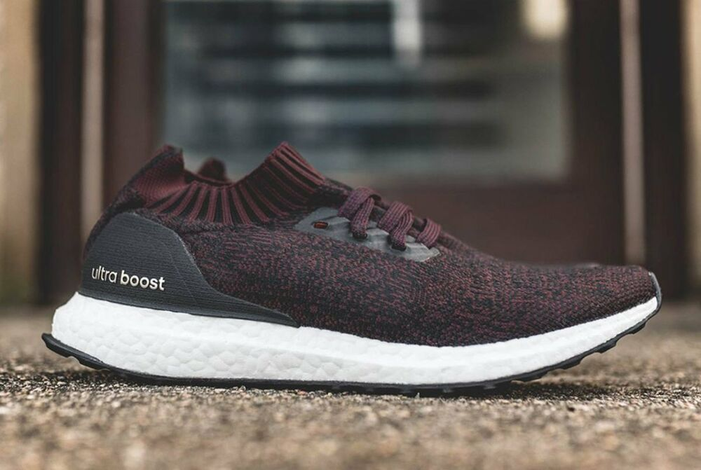 be8d3fe8f78 Details about Adidas Ultra Boost Uncaged Burgundy Black Size 11. BY2552 yeezy  nmd pk
