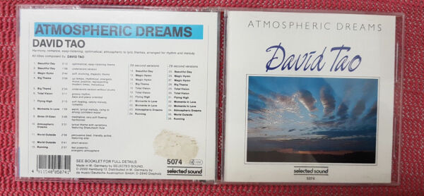 Atmospheric Dreams -  David Tao - CD neuwertig