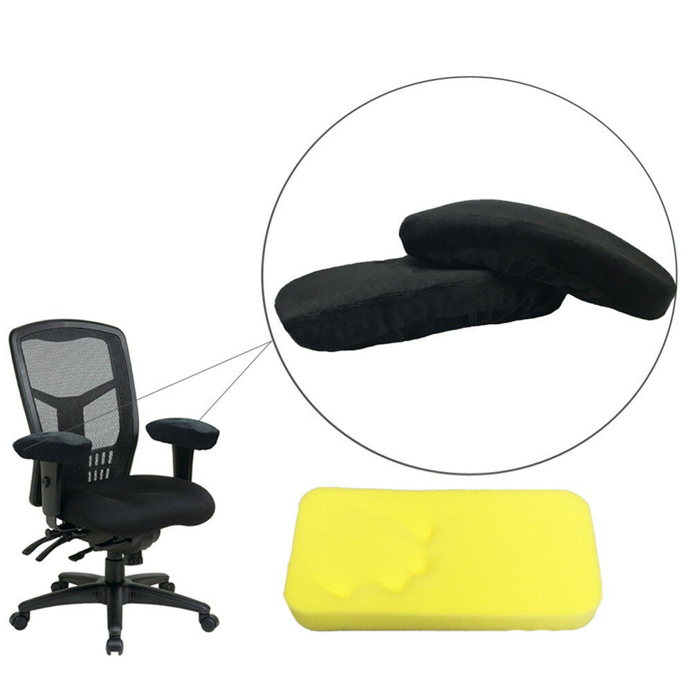Armrest Chair Pads Cushion Foam Memory Rest Elbow Covers