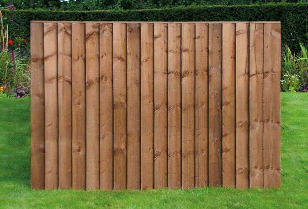 standard feather edge fence panel pressure treated 6 39 x4. Black Bedroom Furniture Sets. Home Design Ideas