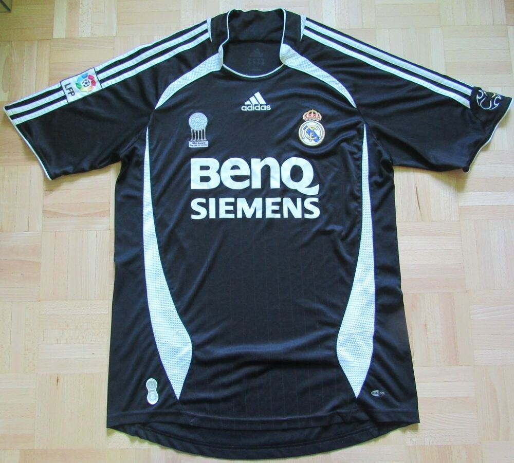Details about REAL MADRID away jersey shirt Adidas Los Galacticos 2006-2007   adult SIZE M 624532c52