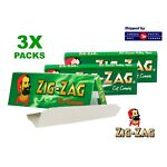3 Packs - Zig Zag Green Rolling Papers -