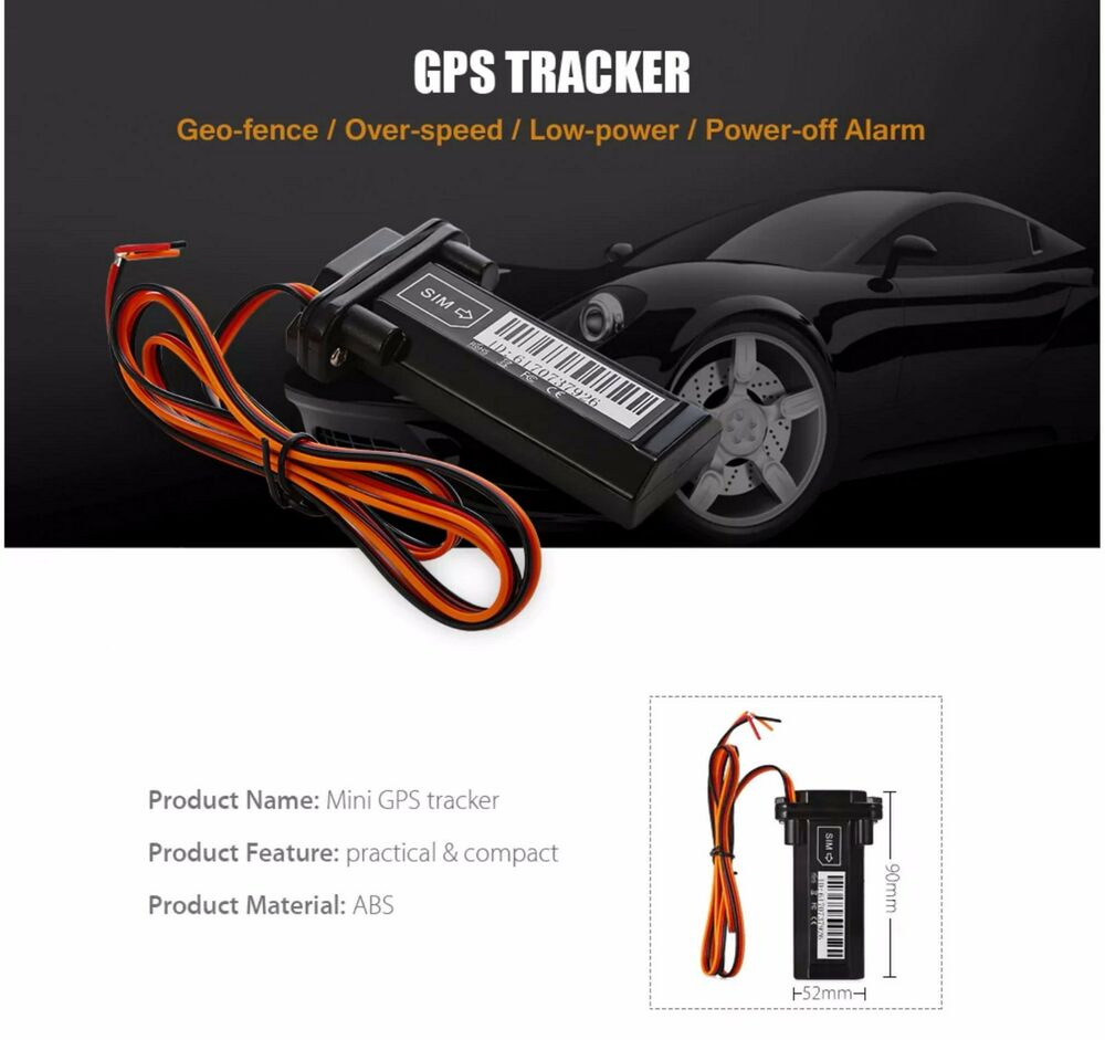 fahrzeug gsm gprs gps tracker f r auto motorrad. Black Bedroom Furniture Sets. Home Design Ideas