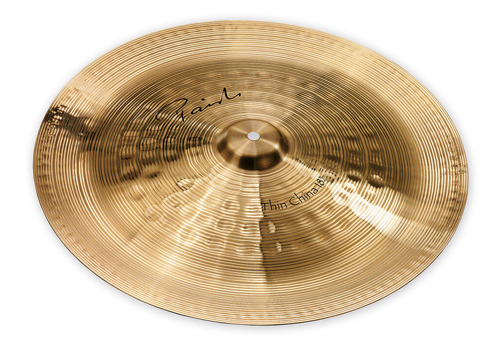 paiste signature thin china cymbal 18 cy0004002618 697643102200 ebay. Black Bedroom Furniture Sets. Home Design Ideas