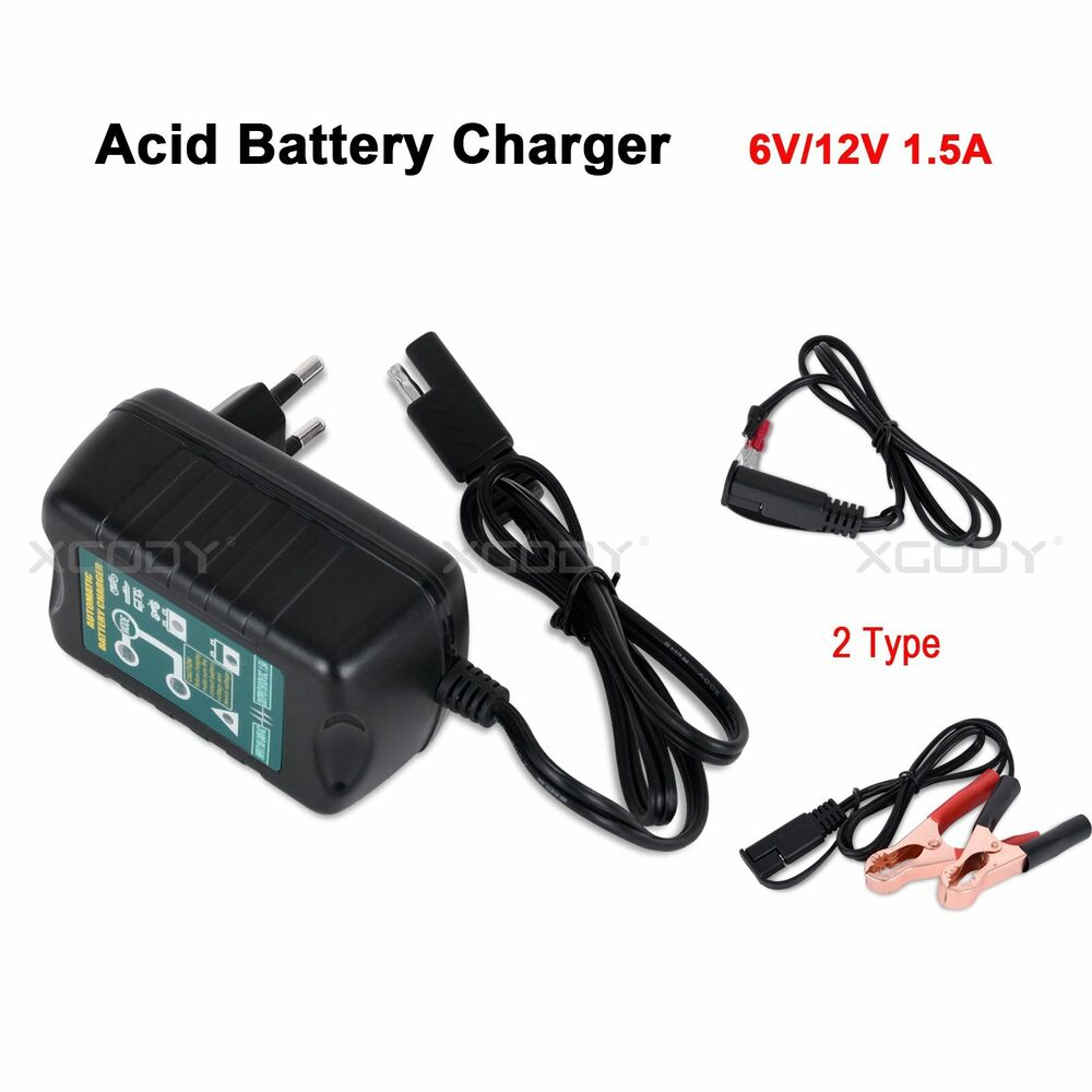 Car Lead Acid Battery Charger Maintainer Tender Trickle 6v 12v Circuit For Simple Electronics Motorcycle Kit Ebay