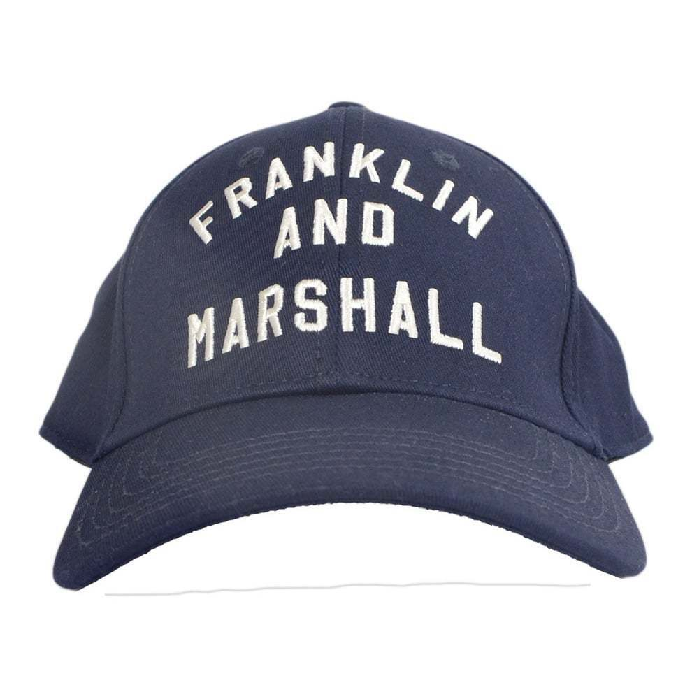 Details about Franklin   Marshall CPUA906 Unisex Arch Logo Navy Cap fb54ddbedeb
