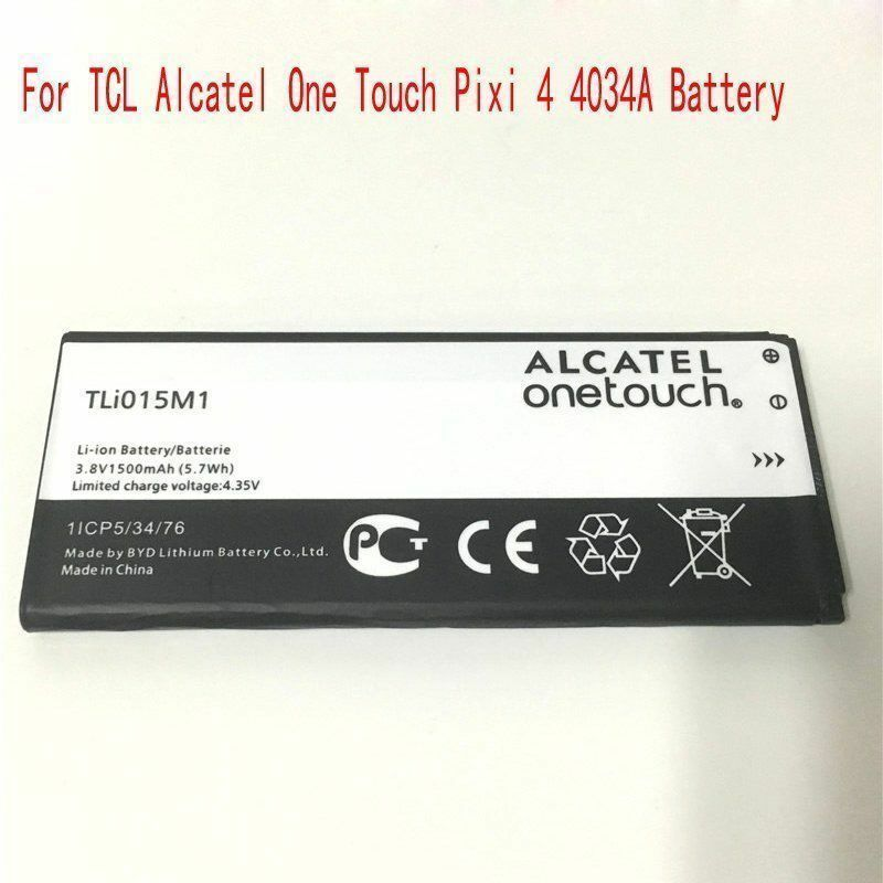Original NEW TLi015M1 Battery For TCL Alcatel One Touch Pixi 4 4034A  1500mAh | eBay